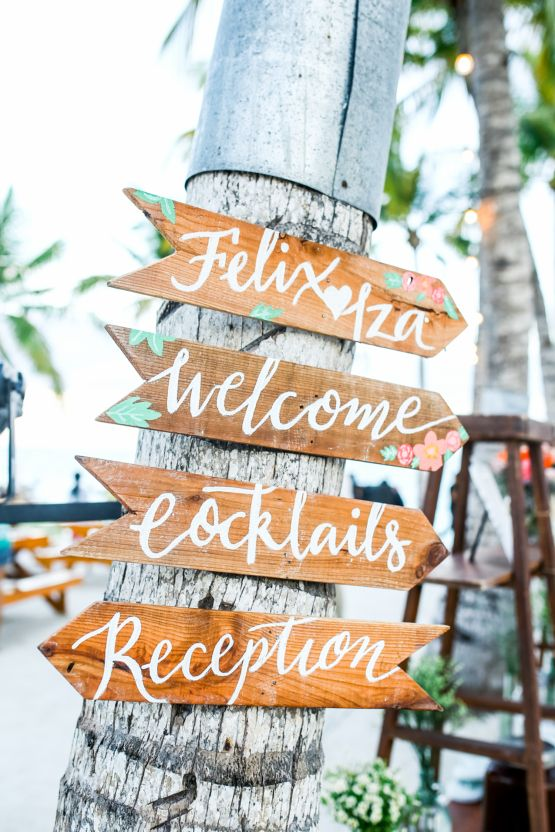 Amazing Beach Wedding In The Philippines Philippines Beach And