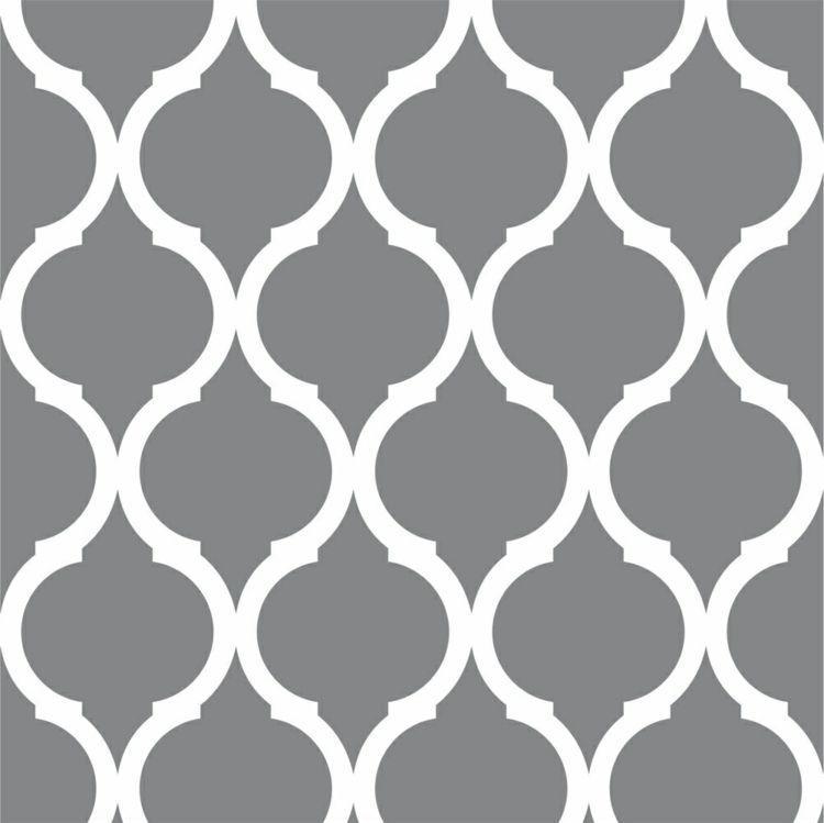 Leaves Wall Stencil Geometric Pattern Stencil 14