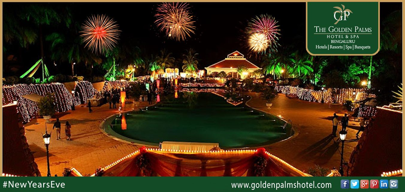 Let Us Make Your New Year S Eve Special With Live Music Dance Unlimited Delicacies And Some Soothing Beverages At Golden Palms Ho Hotel Palms Hotel Hotel Spa