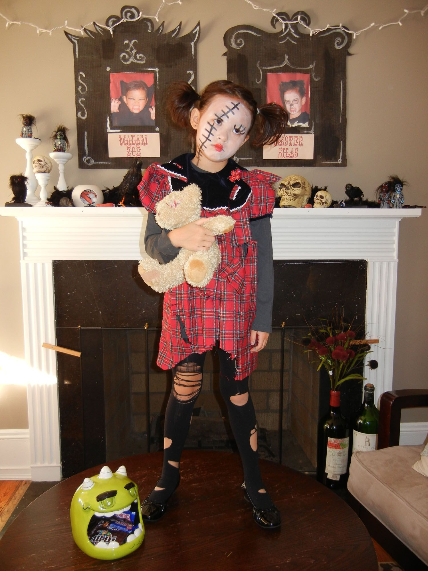 Creepy Doll Costume Cute Costume And Easy To Make My Daughter