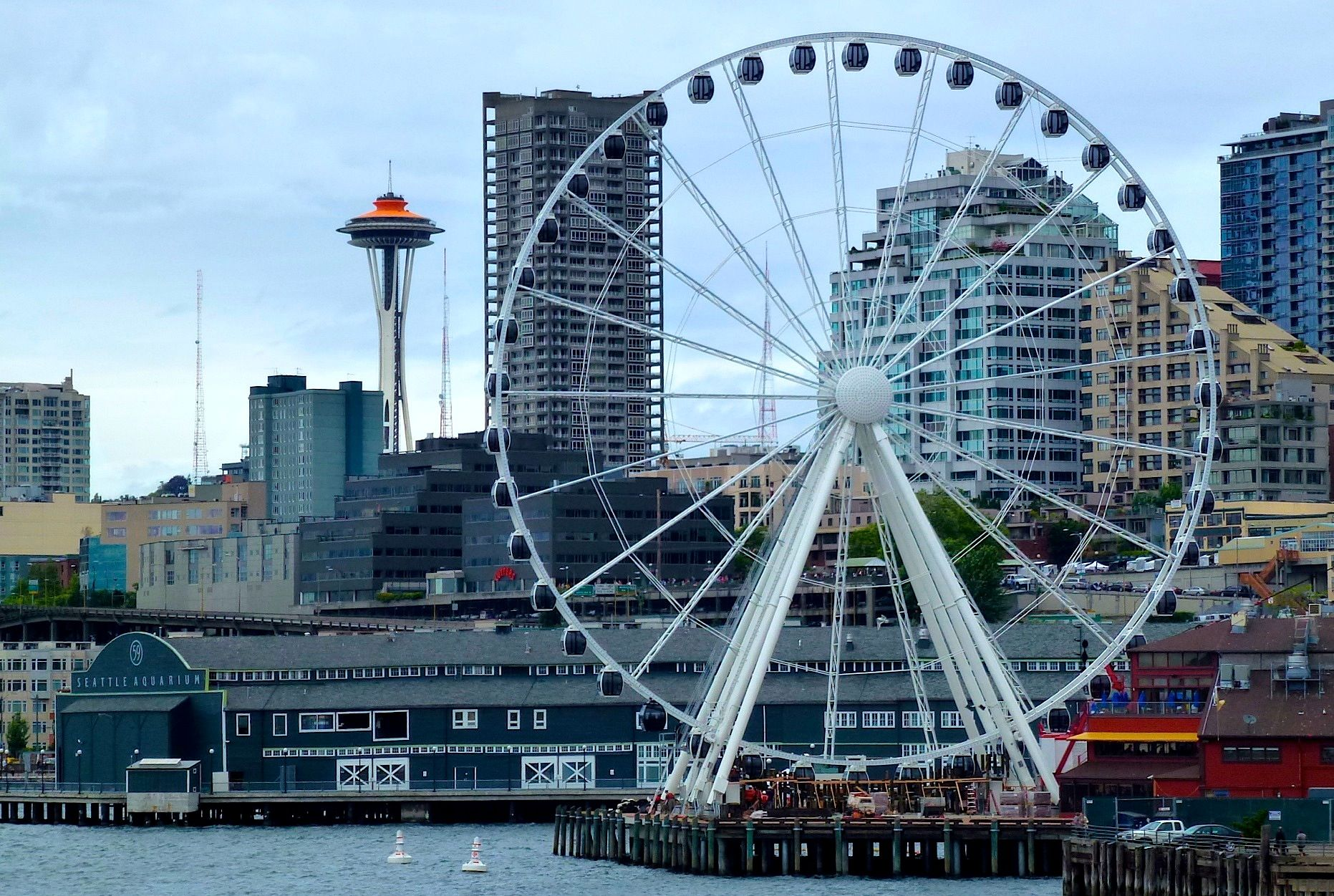 Seattle Ferris Wheel Looking Forward To My First Visit