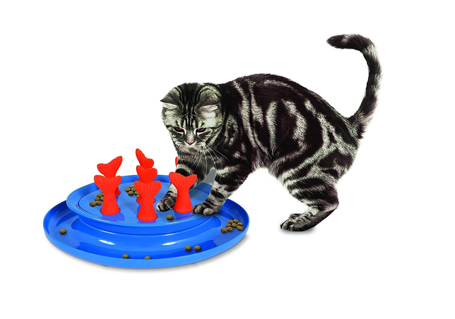 Petmate Jackson Galaxy Go Fish Slow Feeder Puzzle Bowl We Do Hope You Like The Picture This Is Our Affiliate Link C Fish Cat Toy Jackson Galaxy Cat Toys