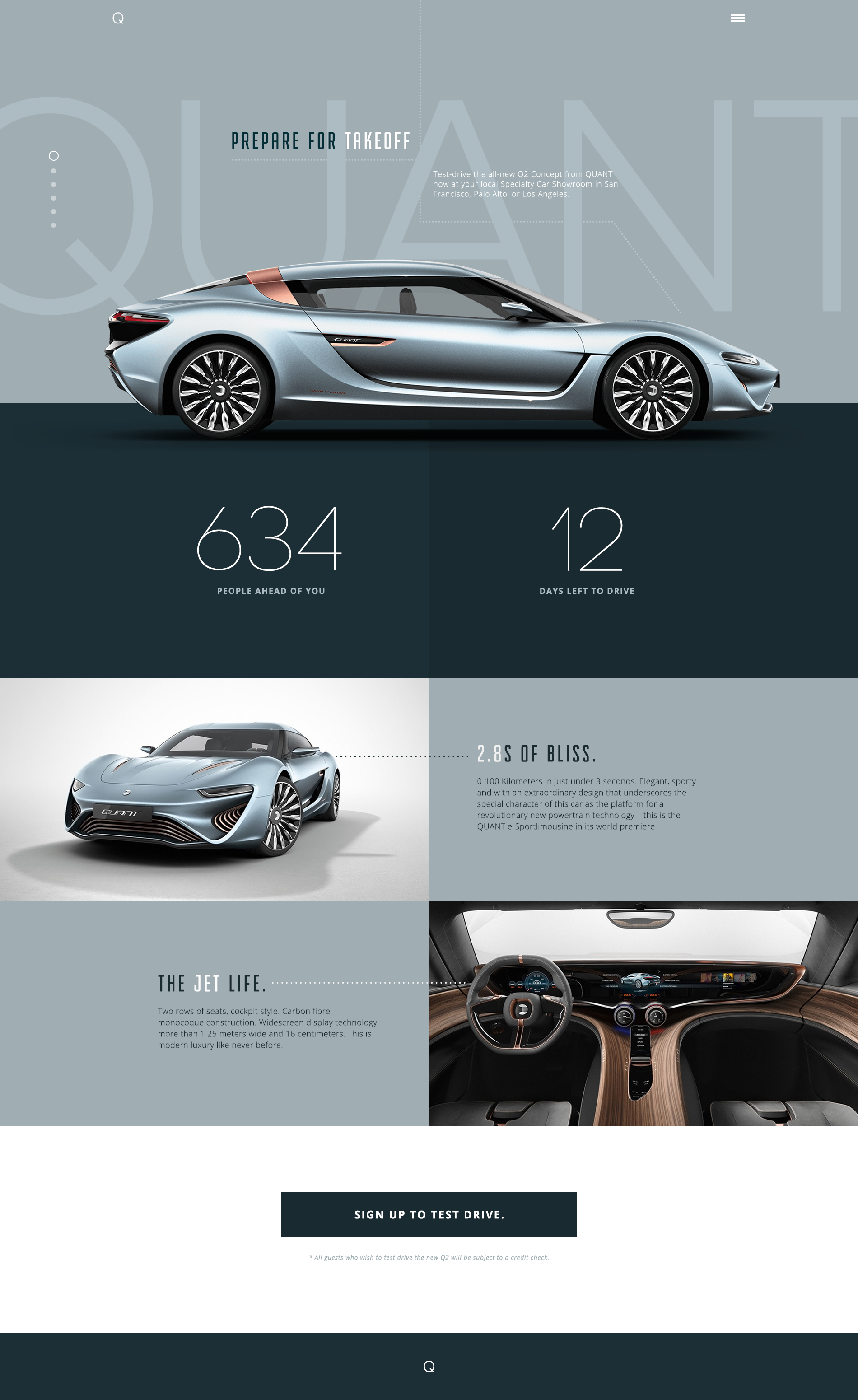Cool Automotive Web Design Concept Car Automotive Webdesign - Cool car websites