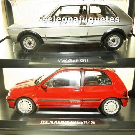 Renault Clio rojo 1:43 Coche Nuevo Modelo Diecast modelos coches Die Cast Metal