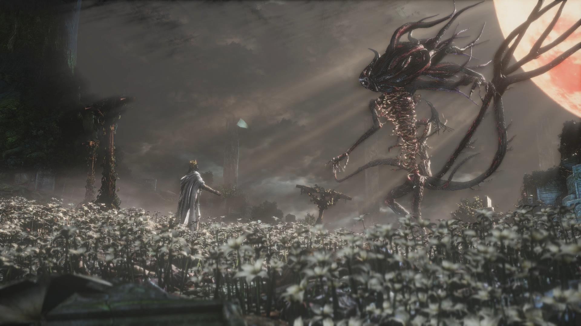 Dark Souls Animated Wallpaper Moon Presence Best Vidya Games Bloodborne Old Blood