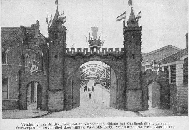 Vld 5 - Vlaardingen lang geleden      -  Station straat  -