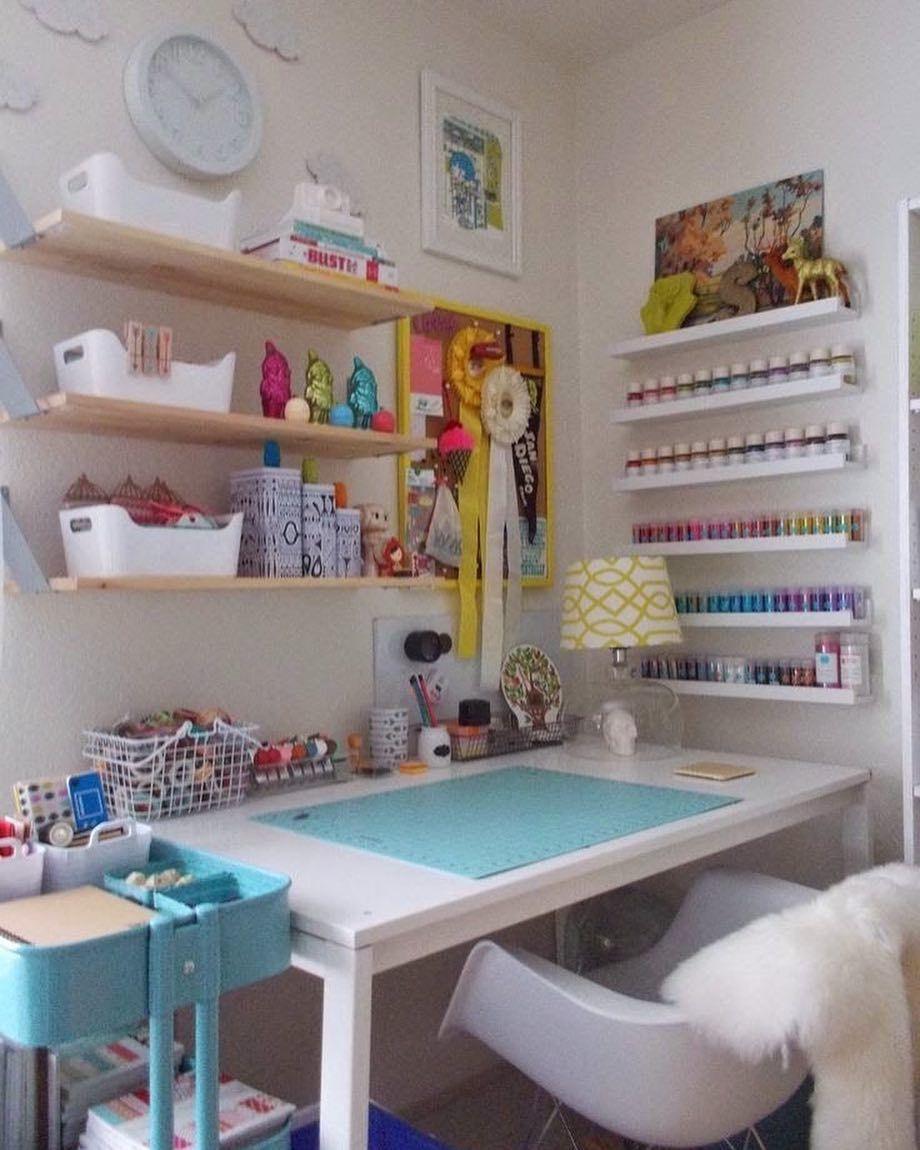 craft room office reveal bydawnnicolecom. Office Spaces · 566 Curtidas, 12 Comentários - KᗩKᗩ ᑕOᔕTᗩ Kᑕ OᖇGᗩᑎIᘔEᖇ (@kcorganizer) No Craft Room Reveal Bydawnnicolecom