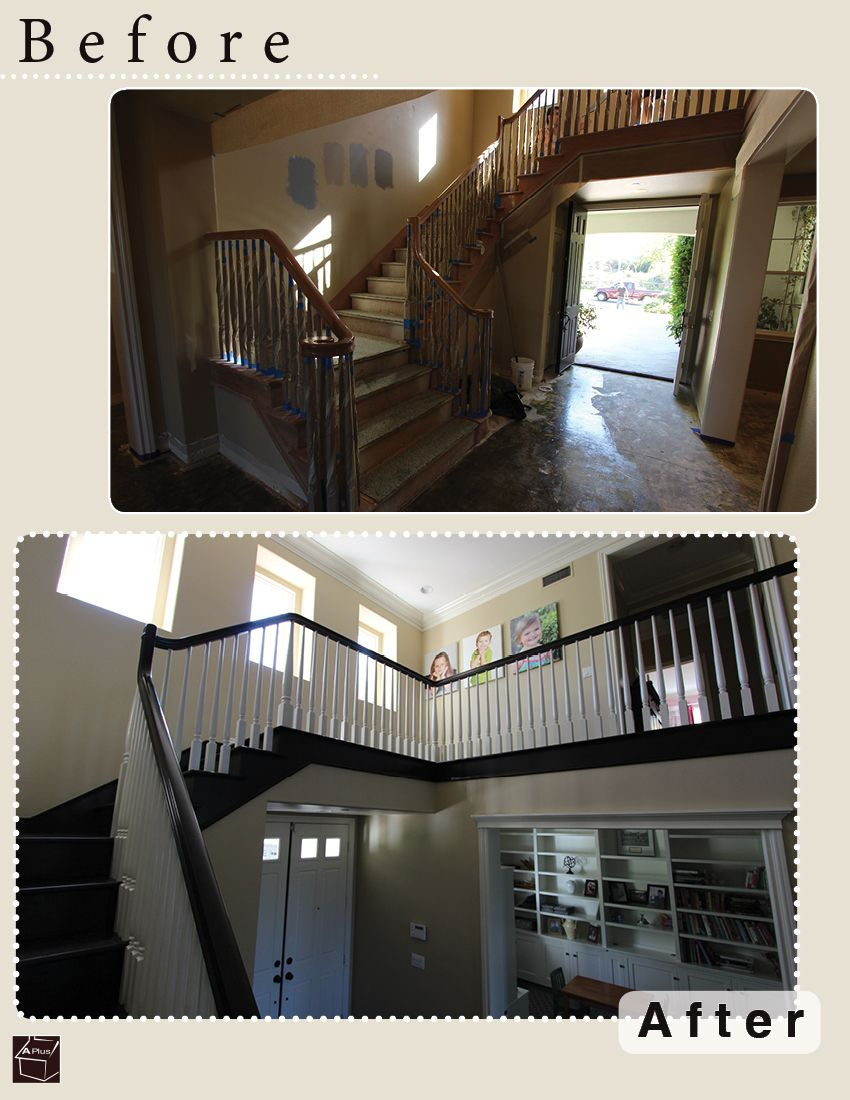 Check out this custom stairs