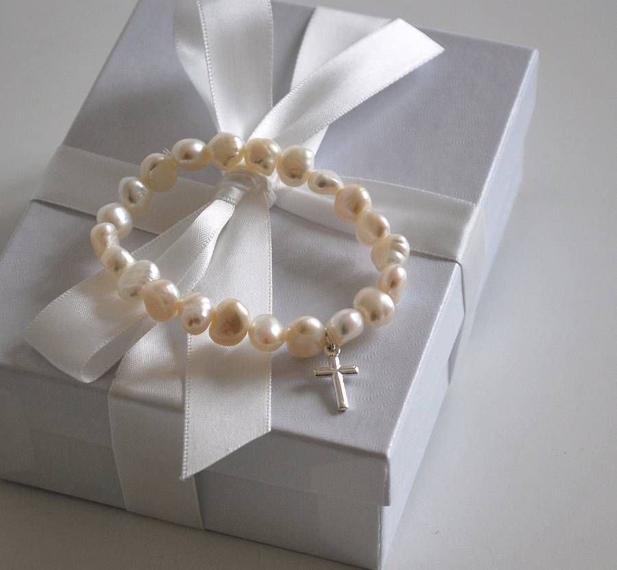 holy communion bracelet by a touch of verse | notonthehighstreet.com
