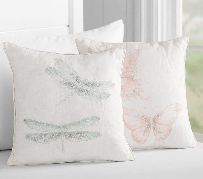 Monique Lhuillier Watercolor Decorative Pillows