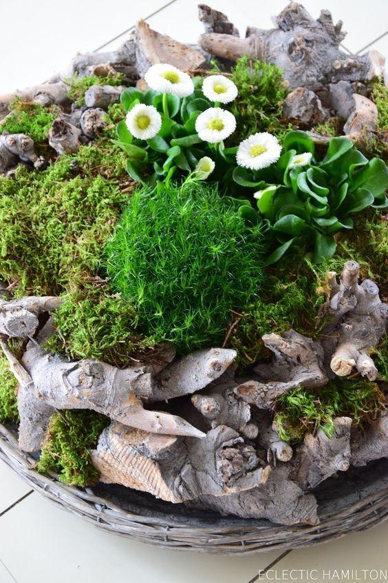 Photo of Gefüllter Frühlingskranz oder: DIY Frühlingslandschaft – Mrs Greenery
