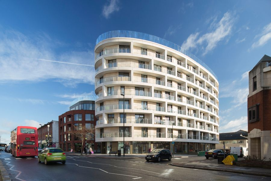 Dma David Miller Architects Gateway House Architect Exterior Waitrose Supermarket