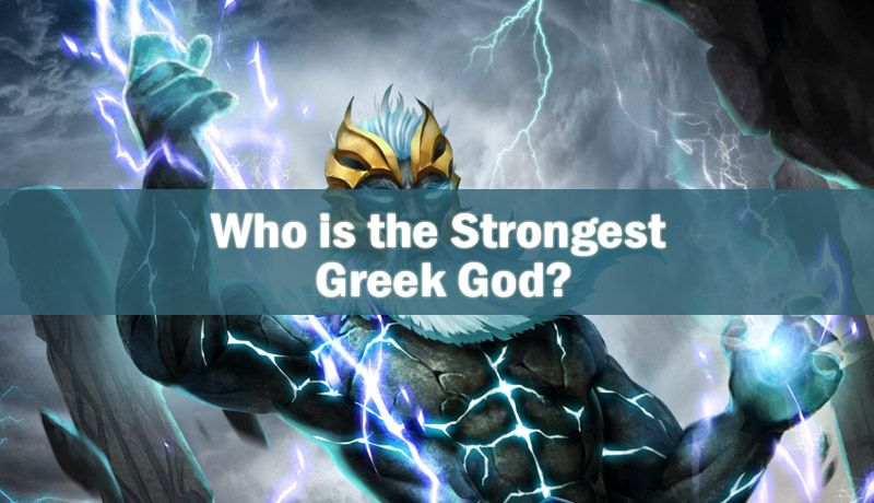As Many People Say Zeus Is The One That Gets The Title Of Strongest Greek God However Depends On What Sense Of The Word You Wish Yo Greek Gods Greek Deities
