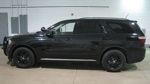 Parmer County Sheriff Ghost Graphics Dodge Durango