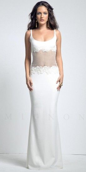 Scoop neck prom dresses by Mignon #dresses #fashion #beautiful ...