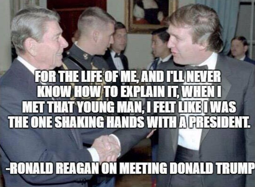 Fact Check Did Ronald Reagan Predict A Trump Presidency God