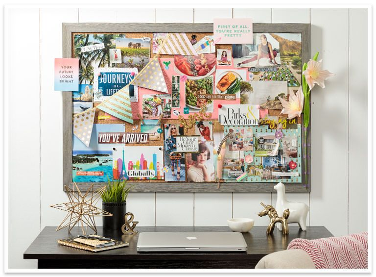 Dream board complete find a home for your vision board