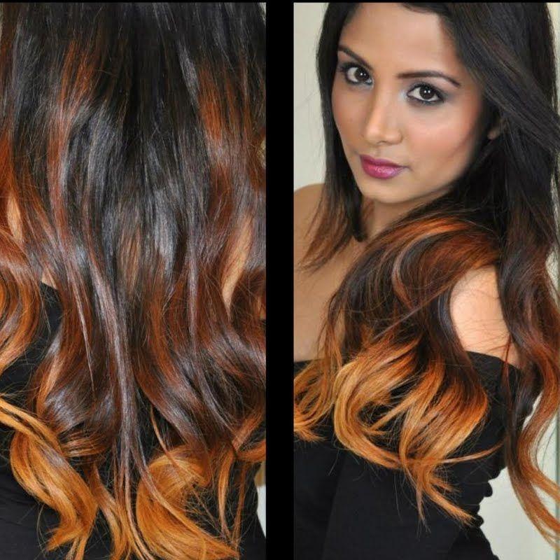 Fiery Ombre Hair Look Ecbd200d1145158465d50bec932a8d86 Jpg 800