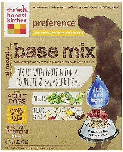 The Honest Kitchen Preference: Base-Mix Dog Food, 7 lb | Dog Food ...