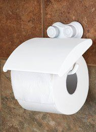 Suction Toilet Paper Holder
