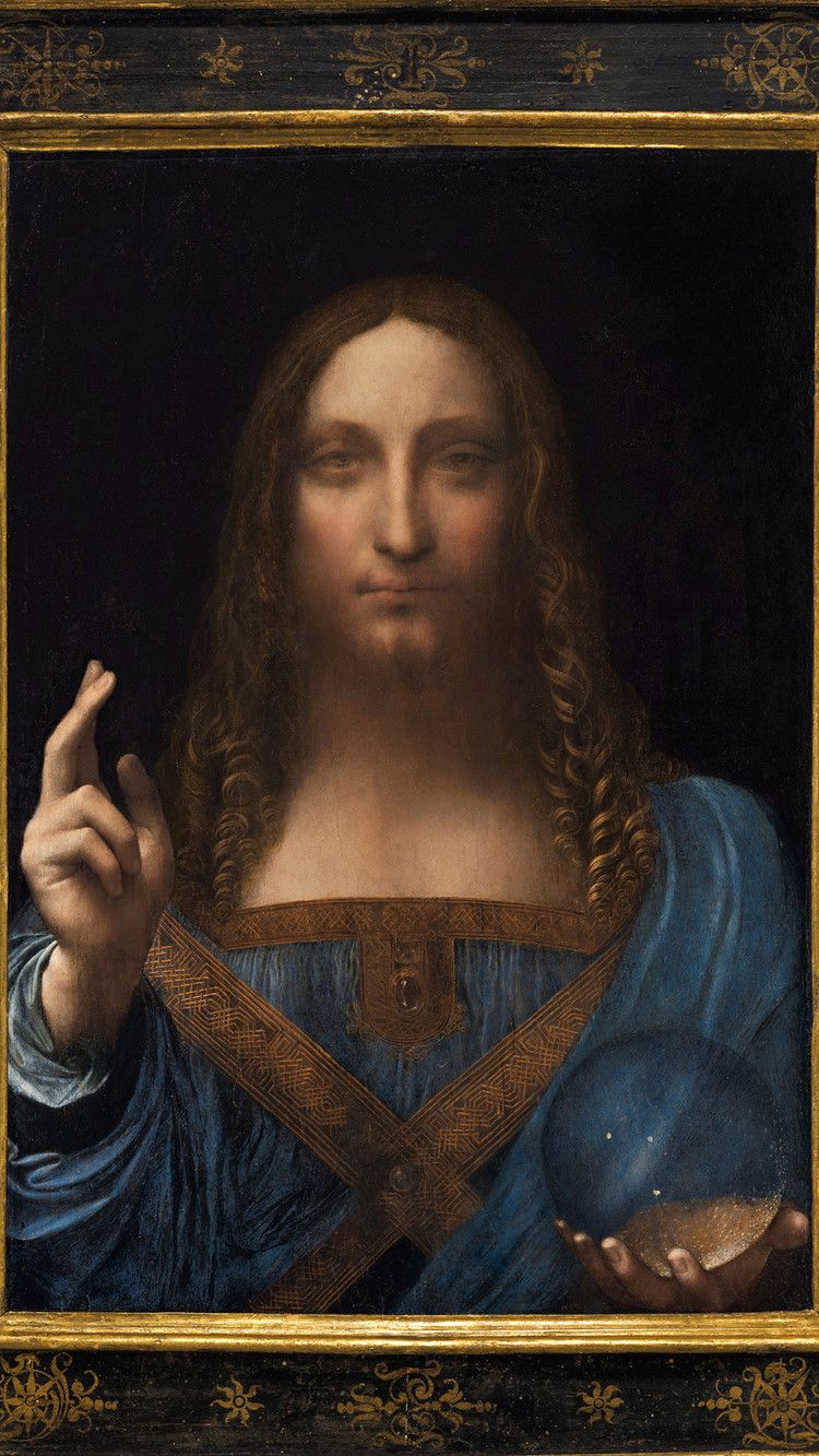 Da Vinci Painting Sells For Record 450m The Telegraph Da Vinci Painting Leonardo Da Vinci Leonardo