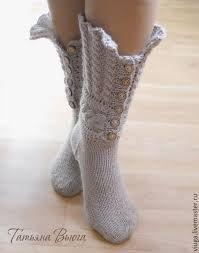 Картинки по запросу шерстяные носки вязать