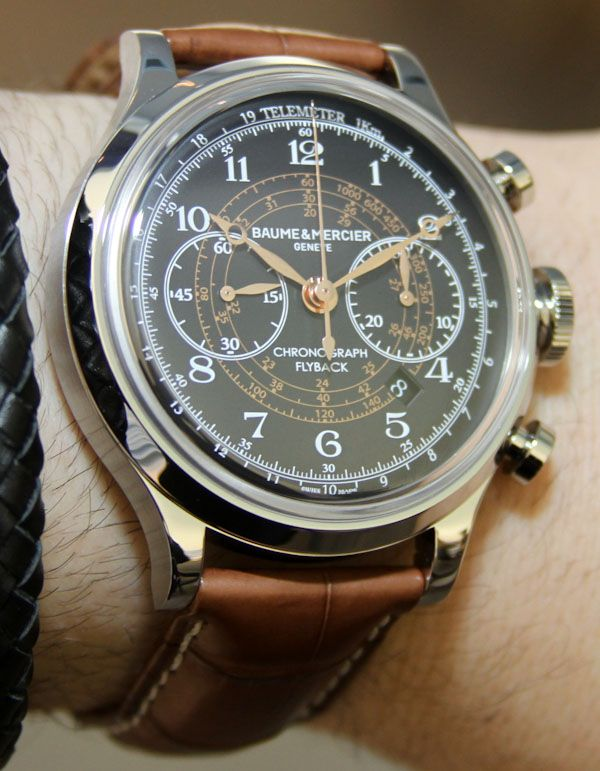Baume & Mercier Capeland, uncover more at https://www.styleseek.com/search?utf8=%E2%9C%93=Watches