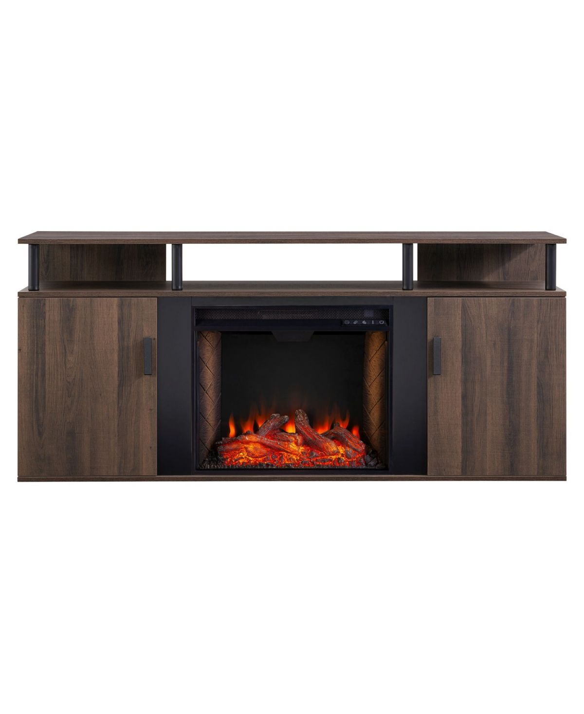 Southern Enterprises Teagan Alexa Enabled Electric Fireplace With
