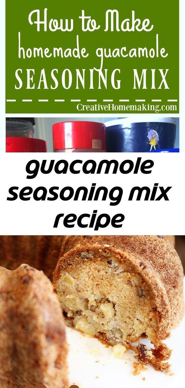 Guacamole seasoning mix recipe #homemadefajitaseasoning