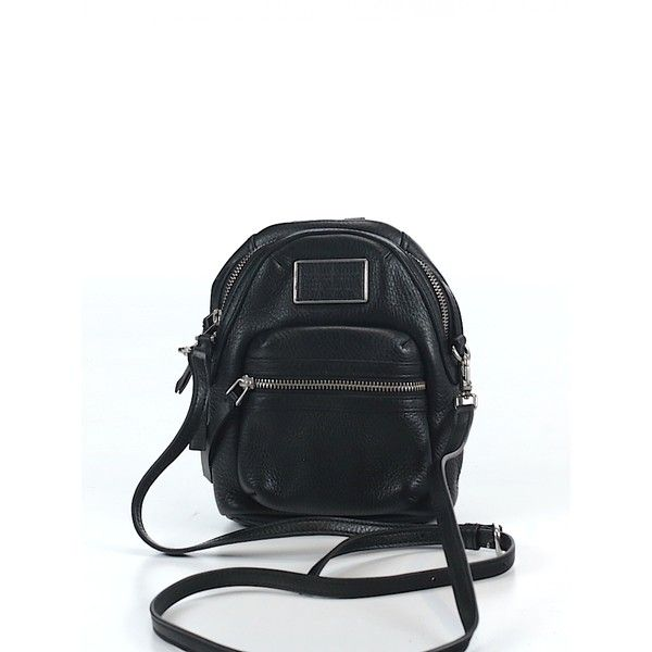 Pre-owned Marc by Marc Jacobs Leather Crossbody Bag: Black Women's... ($94) ❤ liked on Polyvore featuring bags, handbags, shoulder bags, black, handbags crossbody, crossbody purse, crossbody handbags, marc by marc jacobs crossbody and crossbody shoulder bags