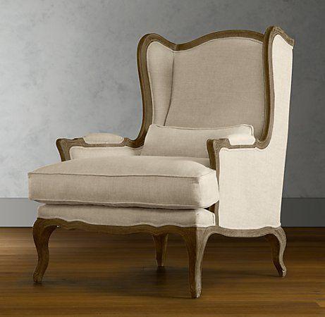 Lorraine Chair   Restoration Hardware