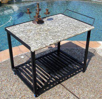 Miller Welding Projects Idea Gallery Granite Serving Cart