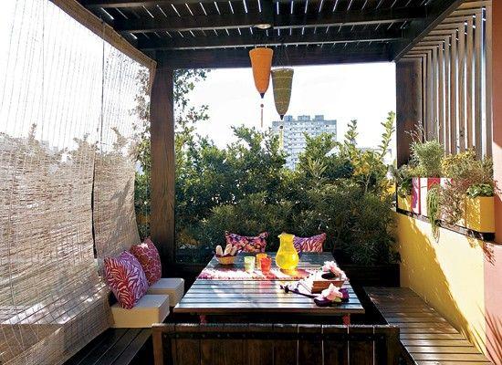 terraza colores decoracion diseo muebles