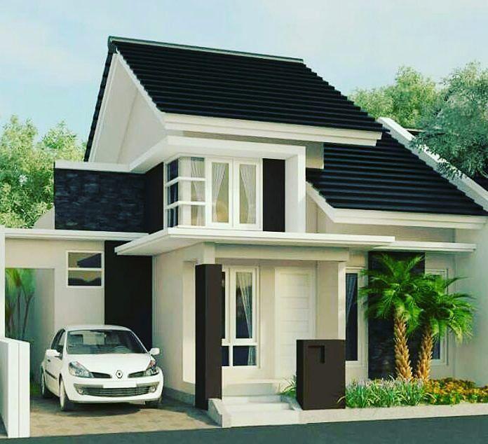Desain Rumah Minimalis 2 Lantai Bentuk L Cek Bahan Bangunan