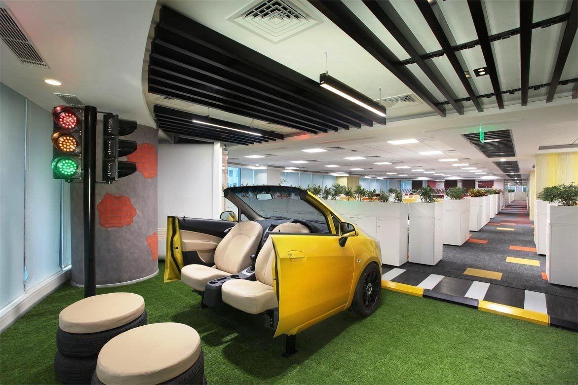 This is how General Motors\u0027s Gurgaon Office looks like