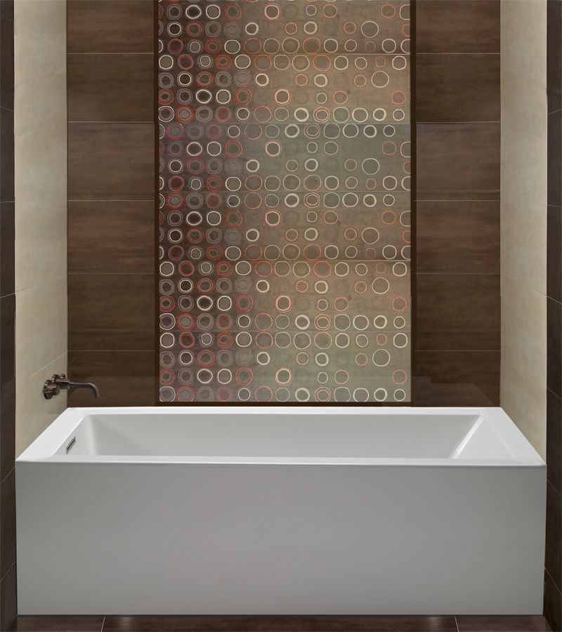 MTI Cameron - 60x32 Bathtub Contemporary design, Contemporary and