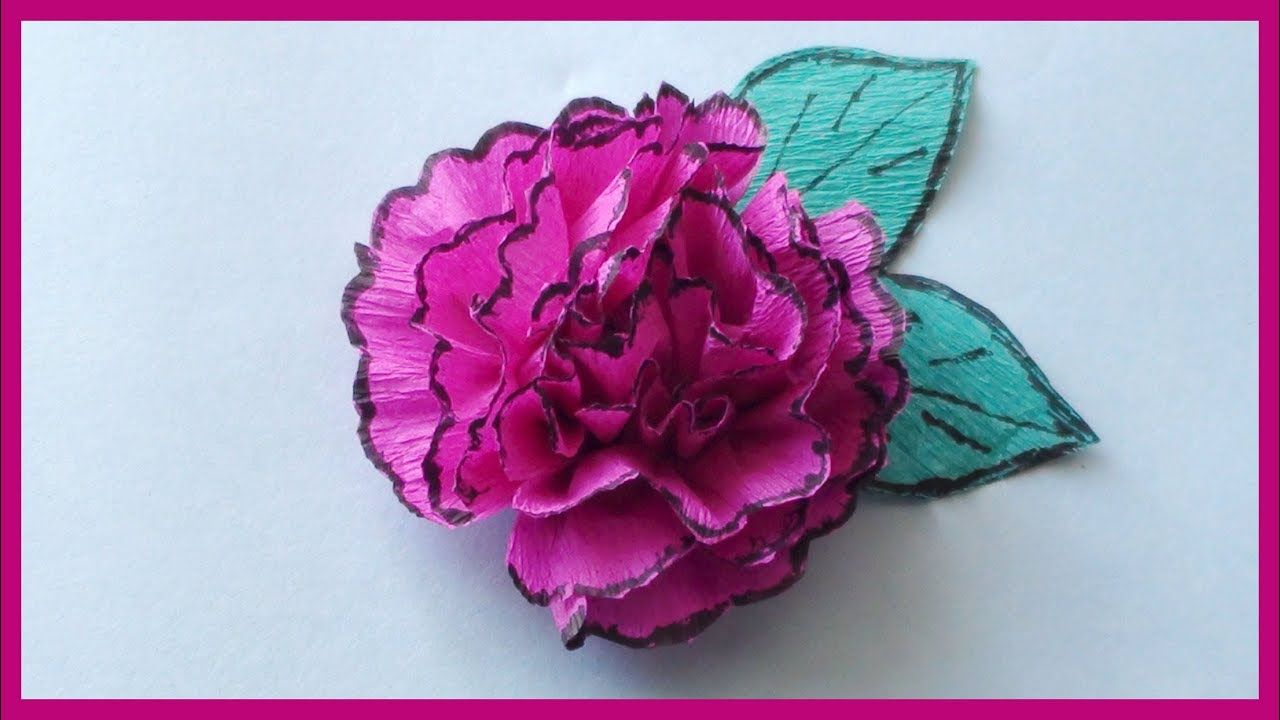 Crepe paper flowers video tutorial how to make paper flowers crepe paper flowers video tutorial how to make paper flowers easy paper crafts mightylinksfo
