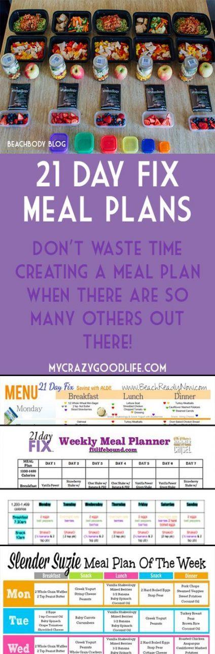 Fitness Food Menu 21 Day Fix 43 Ideas #food #fitness