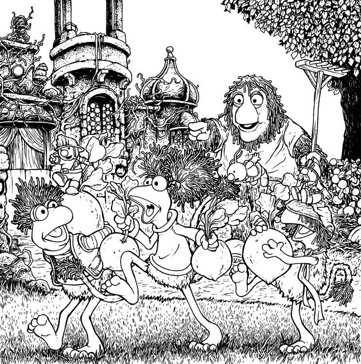 fraggle rock coloring pages | David Petersen\'s Blog | Color iT - My ...