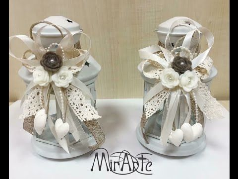 Video Flash Bomboniere Matrimonio Shabby Chic Youtube Shabby Chic Crafts Shabby Shabby Chic
