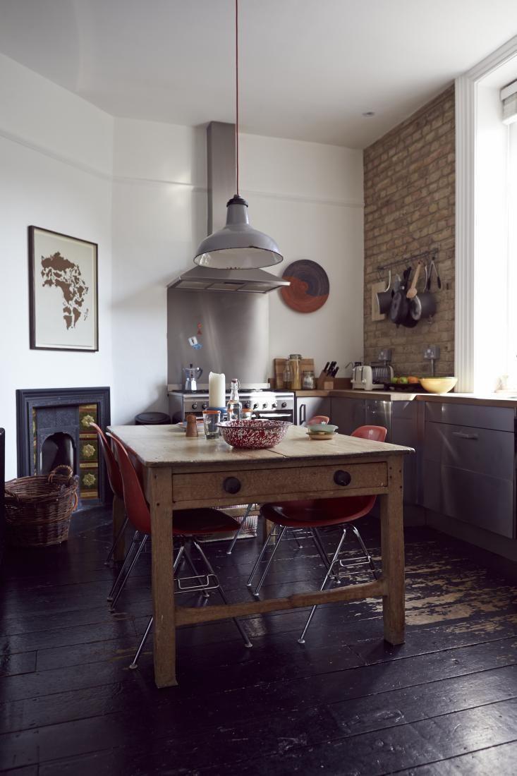 Esprit Vintage Et Rustique En Angleterre Cuisine Rustique