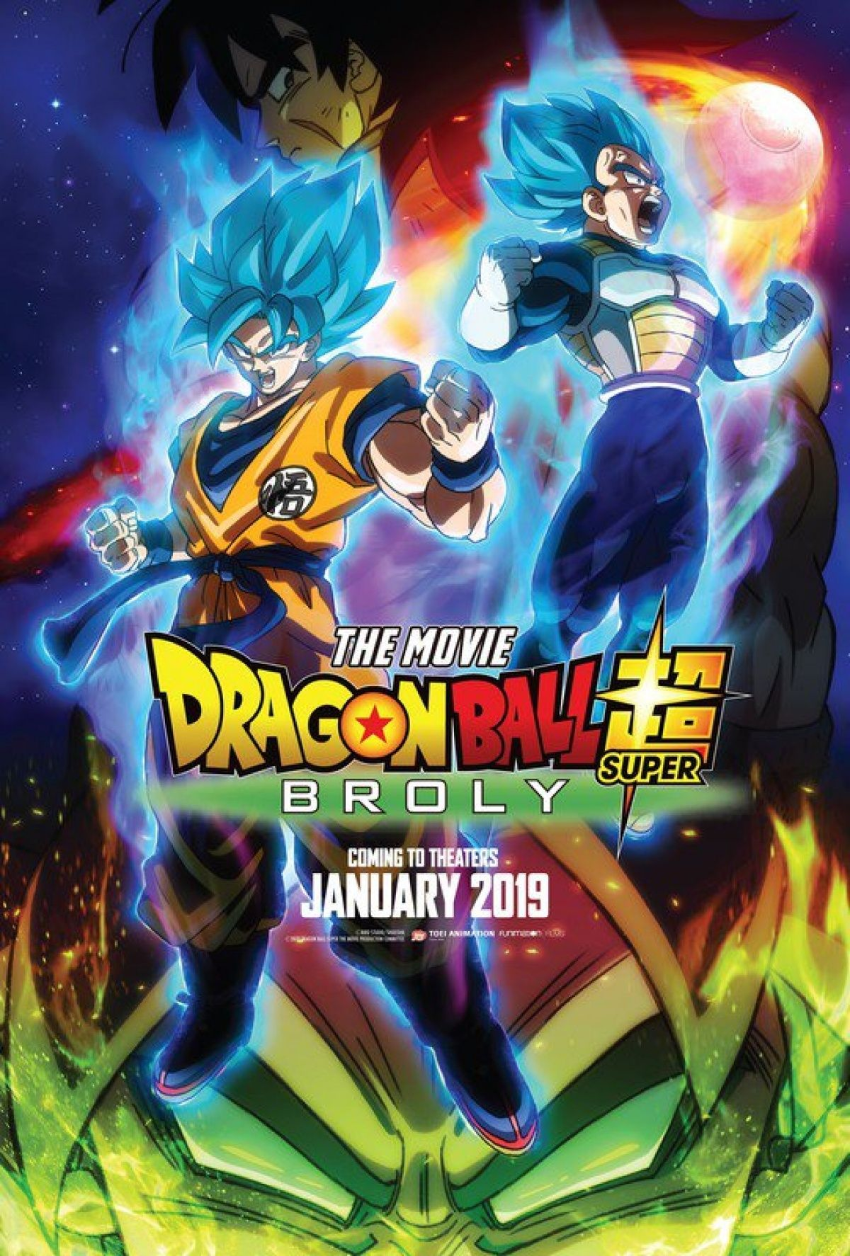 Dragon Ball Super Broly Movie Goku Battles A Powerful Saiyan In New Trailer Dragon Ball Super Super Movie Broly Movie