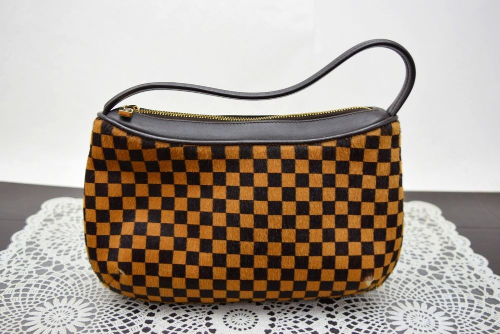 b8d3791e0b1cc Authentic Louis Vuitton Accessories Pouch Damier Sauvage Tiger M92132  342253  fashion  clothing  shoes  accessories  womensbagshandbags (ebay  link)