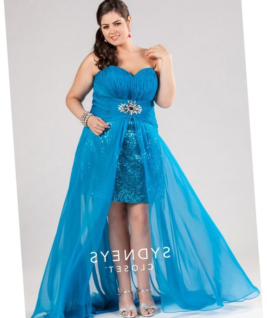 High Low Prom Dresses Plus Size Formal Dresses Pinterest High
