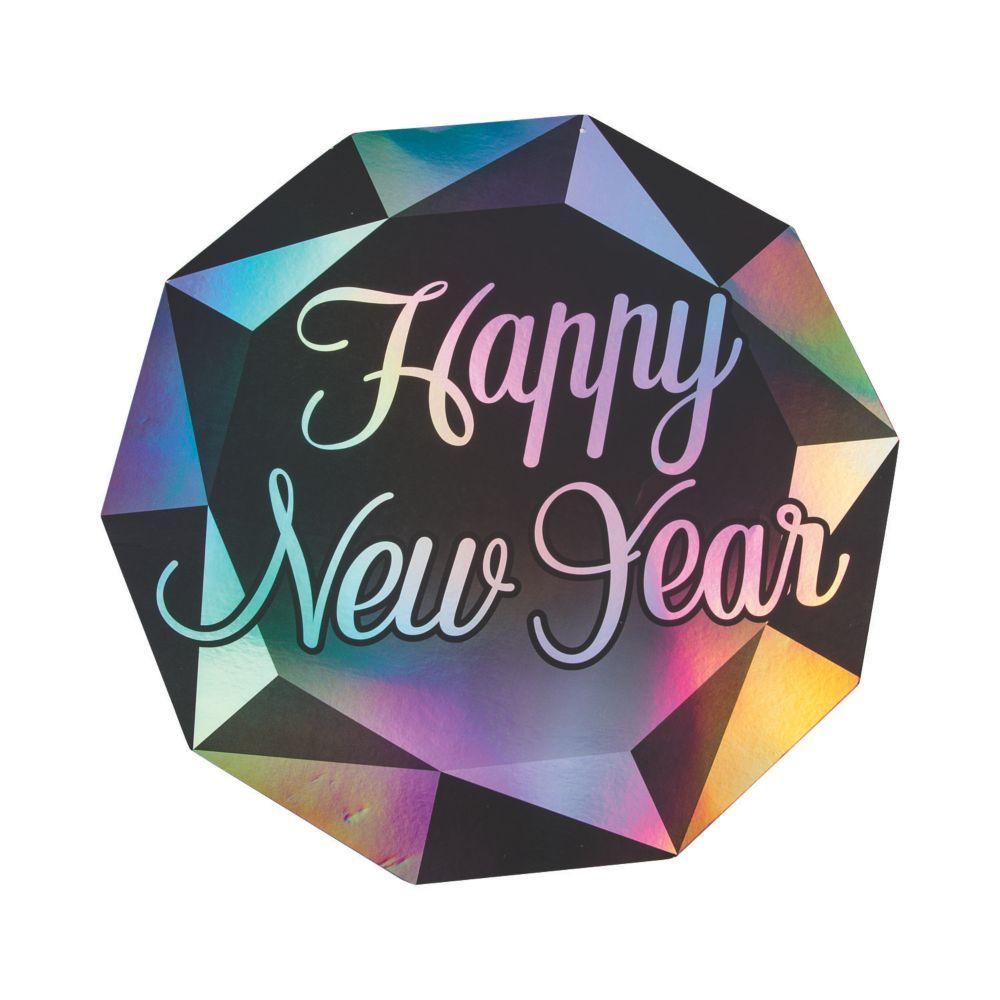 Diamond New Year's Eve Wall Cutouts   New years ...