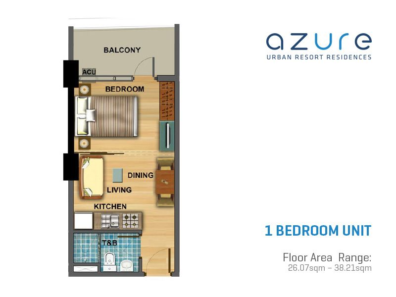 Azure Urban Resort Residences Floor Plans Real Estate In