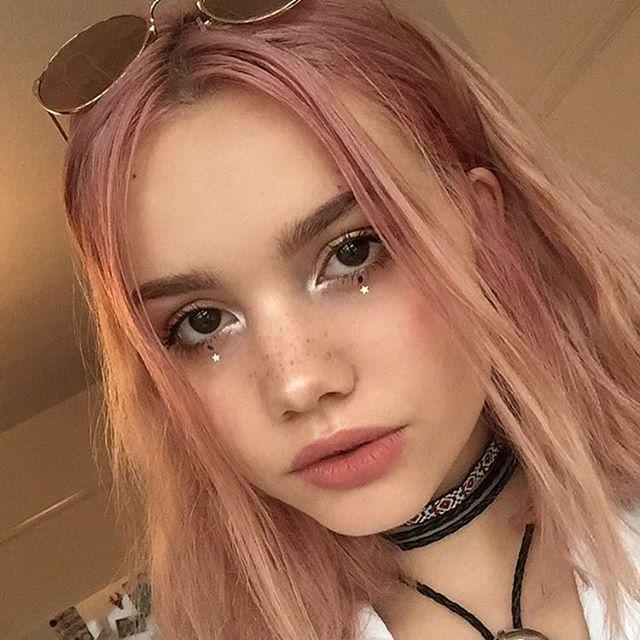 pin hair colour