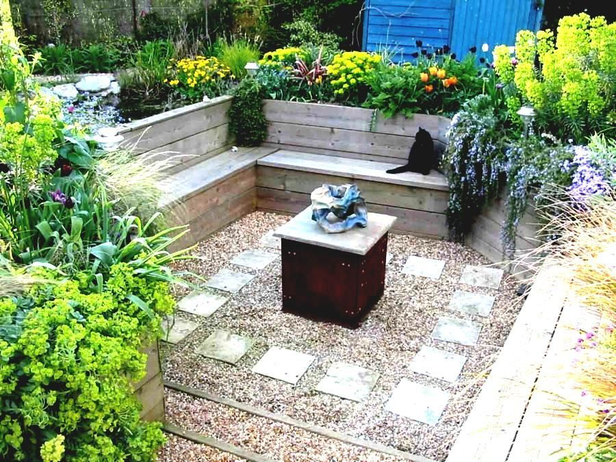 Landscaping Ideas Without Grass ... | Small garden design ...