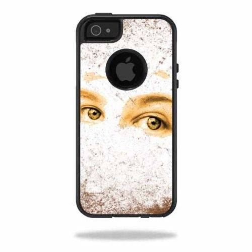Mightyskins Protective Vinyl Skin Decal Cover for OtterBox Commuter iPhone 5/5s/SE Case Cell Phone wrap sticker skins Look