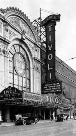 The Tivoli Theater At 63rd St And Cottage Grove Avenue When It Opened In The Mid 1920 S Was One Of The Most S Chicago Buildings Cottage Grove Chicago History